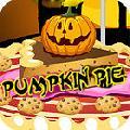 Halloweeni sütőtök pite