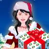 Christmas Girl Dress Up, Karácsonyi és télapós ingyen online játékok