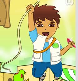 Diego kristály küldetése-  a felfedező kisfiú kalandjai az őserdőben